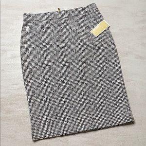 MICHAEL Michael KORS Black & White Pencil Skirt